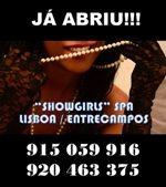 """""""SHOWGIRLS"""" SPA – 6 Acompanhantes de Luxo para relax em Lisboa"""