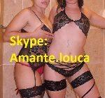 Diana e Paula – Quentes e Loucas da Webcam via Skype